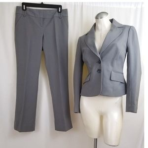 The Limited Size 2 4 Gray Pant Suit 2 Piece